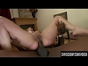 Dominant Cumslut Delilah Strong Makes Black Stud Eat Her Ass n Creampie It