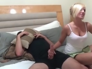 Shy brother with monster cock fucks his horny step sister
