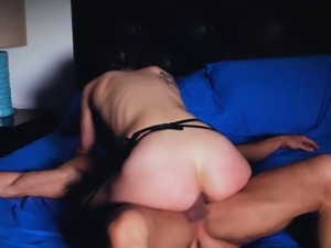Jade handling fire and cock with passion