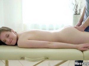 Massage followed by great sex