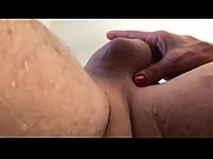 Beautiful ebony trained to clean my balls