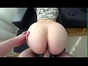Cute Teen Clit Rubbing Orgasm