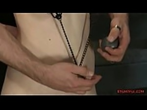 Two Guys Pinch Some Sexy Titties