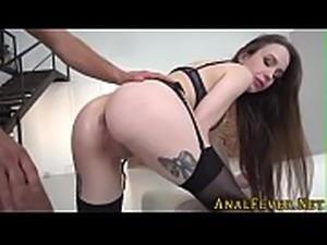 European whore butt fucks