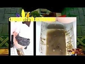 caca y mas caca pura mierda japonesas haciendo caca  asian toilet japanese shit