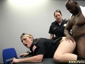 Milf lawyer and skinny brunette gangbang first time Milf Cop