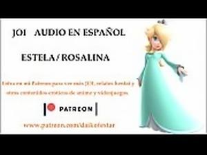 JOI Hentai de Estela / Rosalina. Audio en espa&ntilde_ol.