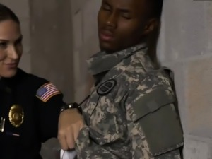 Big tit milf facial compilation Fake Soldier Gets Used as