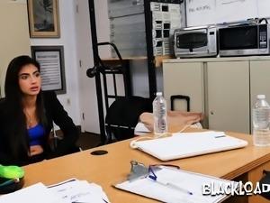 Sucking balls of black casting porn agent