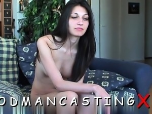 Inviting floozy gets fucked in various poses