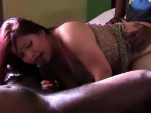 Amateur anal gangbang interracial