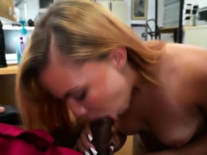 Huge black cock needs a turn for porn casting interview