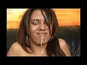 Spit on her face. Compilation Part 2
