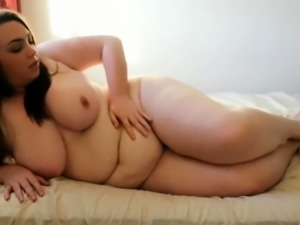 Cum see fat beauty BBW fat on the roof 2
