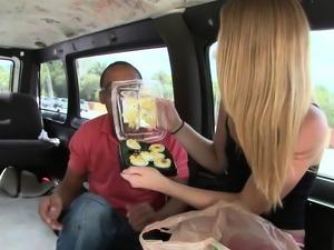 Sex appeal blonde Cypress adores blowjobs
