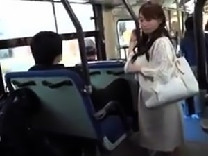 Enticing Japanese girl confesses her love for cock in public