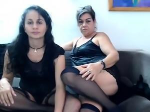 Amateur brunette lesbian porn stars on webcam