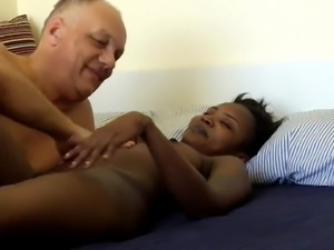Pornstar Cane and porn actress JessyK in a private porn act