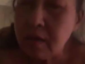 Short Clip Of A Thai Granny Riding