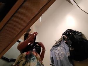 Some Strange Ethnic Titties - Changing Room Fitting Dressing