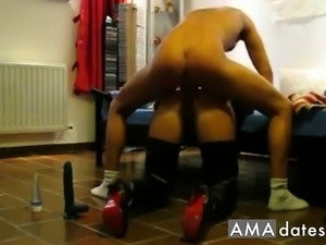 Hard Anal in Latex and Heels