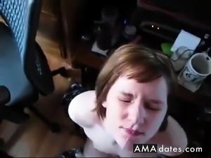 Lenak327 Amateur facial compilation #1