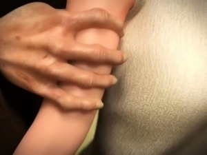 Hot fuck scene with 3d hentai beauty