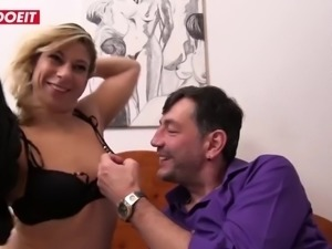 Letsdoeit german anal whore gets banged hardcore