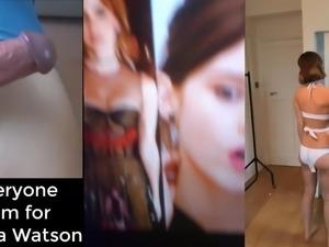 Cum Tribute - Emma Watson - Composition