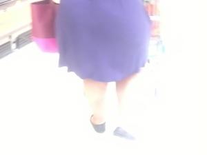Big BBW in see-thru dress 3