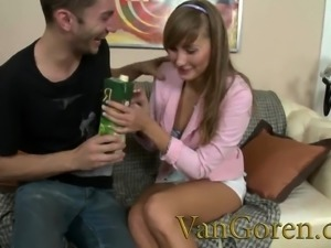 Little teen Nikki loves anal sex