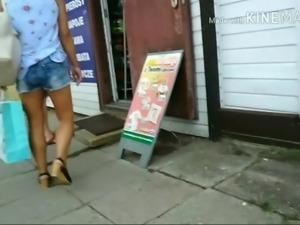 Sexy legs on Poland street