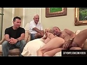 Busty Wife Kasey Grant Gets Her Ass Pumped Full of Cum in Front of Cuckold