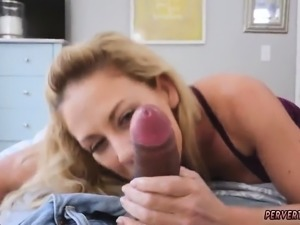 Broke mom anal and 18 birthday milf Cherie Deville in