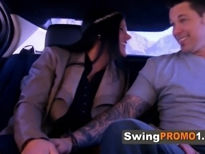 Swinger couples share sexual experiences