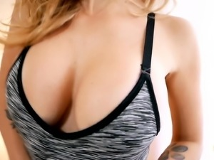 Flawless Body Blonde Babe Amazing Boobs Ass and Pussy