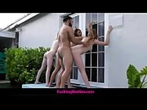 Man Discovers 3 Teen Girls At His Beach House Then Fucks All 3