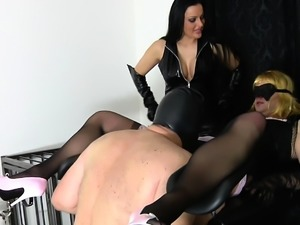 german bdsm slave first time bisexual blowjob for domina