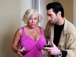 Big titted wife cheats at family party