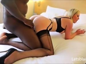 blonde milf interracial fucking black guy hd
