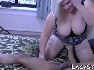 English gilf lacey starr stuffed with big black cock