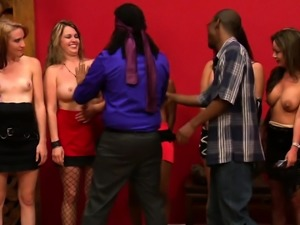 Swinger black couple has an intense sex