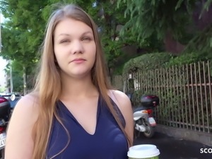 GERMAN SCOUT - FIRST ANAL FOR COLLEGE TEEN AMANDA AT CASTING