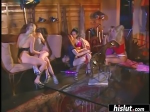 The only lesbian orgy video you&#39ll ever need