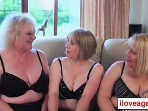 Trisha, Lexie and Claire enjoys orgy