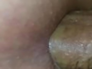Out cold drunk on my side when he cums in my fat 18yr old asshole
