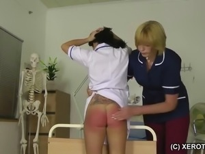 Wrong results read results in red bottom for nurse
