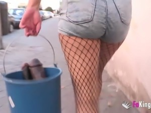 Girl first anal