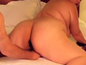 Punishing and plugging her fat ass