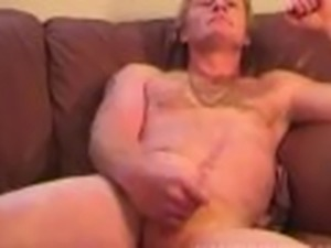 Homemade Video of Mature Amateur James Jerking Off